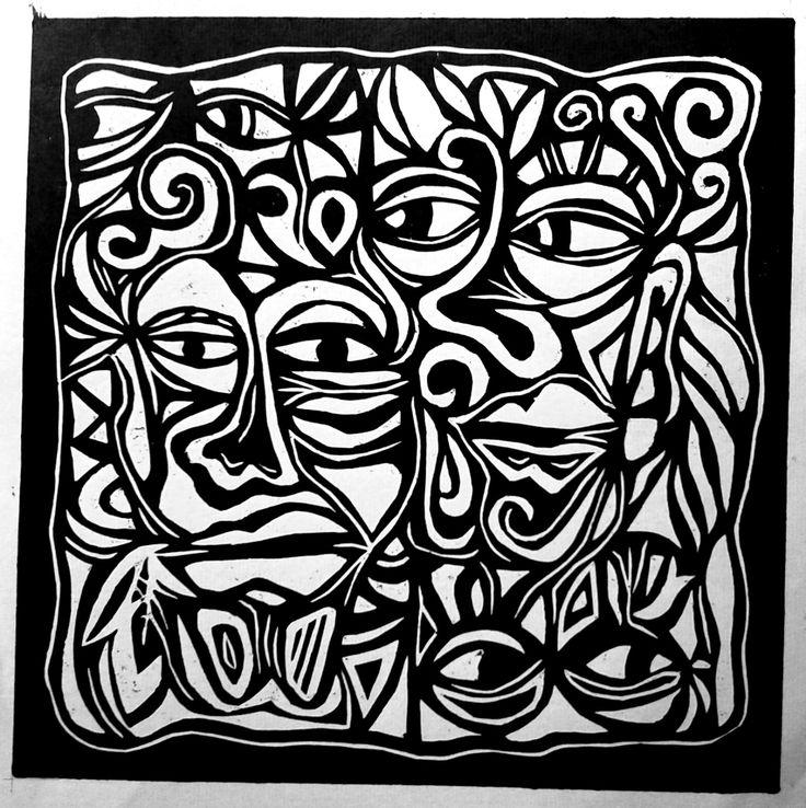Xilografía. Esperanza González