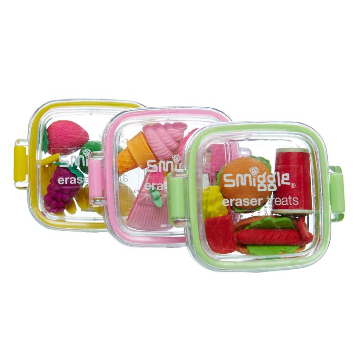 Treats Eraser Mini Pack | Smiggle