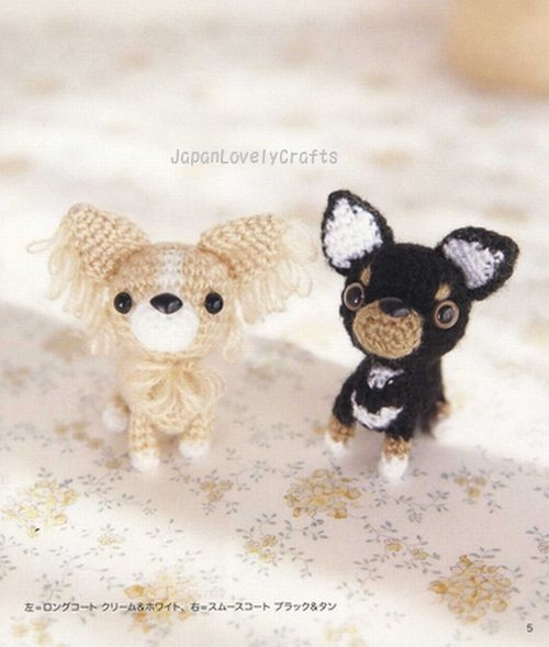 AMI AMI DOGS 2 BY MITSUKI HOSHI -  JAPANESE AMIGURUMI CROCHET PATTERN BOOK FOR DOGS - LOVELY & KAWAII AMIGURUMIS, CROCHETING ANIMAL 2 by JapanLovelyCrafts, via Flickr