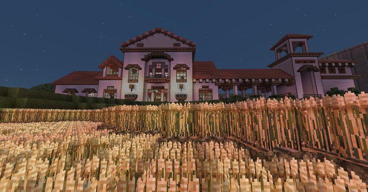 Minecraft Mansion Villa