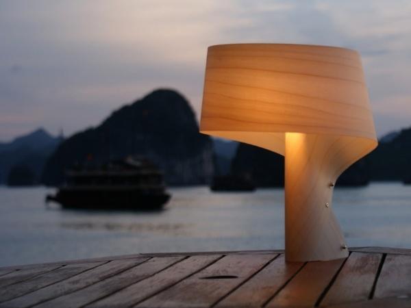 LZF Air Table Lamp In Ha Long Bay. Nice Design