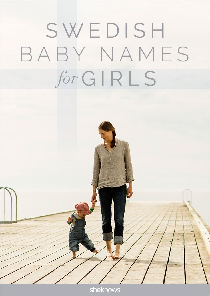 Sweet baby names for girls straight from Sweden.