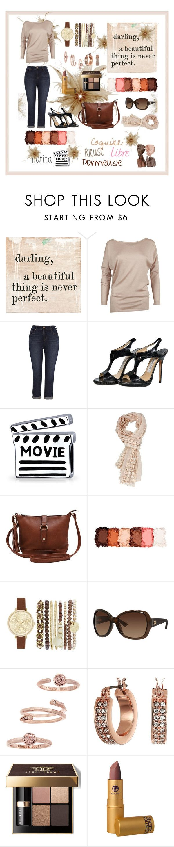 """""""Selfie """" by marinade11 ❤ liked on Polyvore featuring Sugarboo Designs, Ralph Lauren, Melissa McCarthy Seven7, Jimmy Choo, Bling Jewelry, M&Co, NYX, Jessica Carlyle, Gucci and Kendra Scott"""