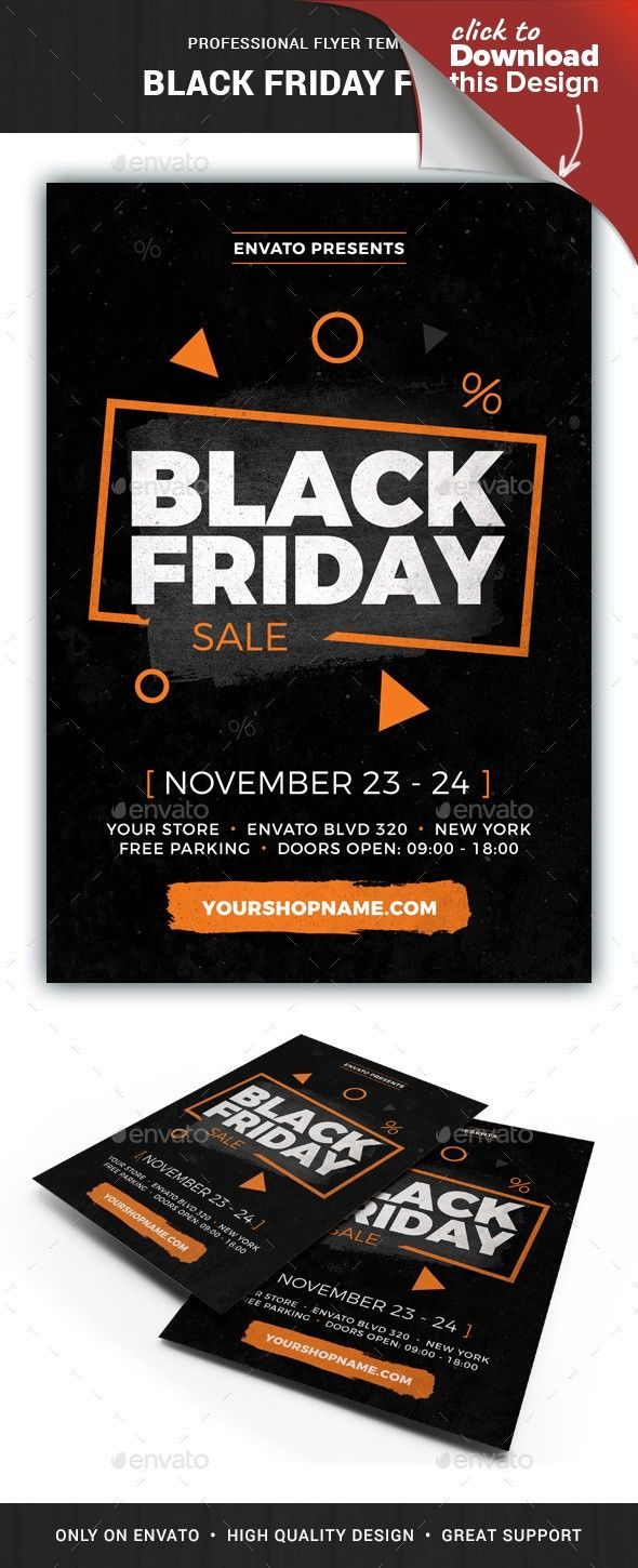 Black Friday Flyer Template Flyer Template Black Friday Flyer Flyer