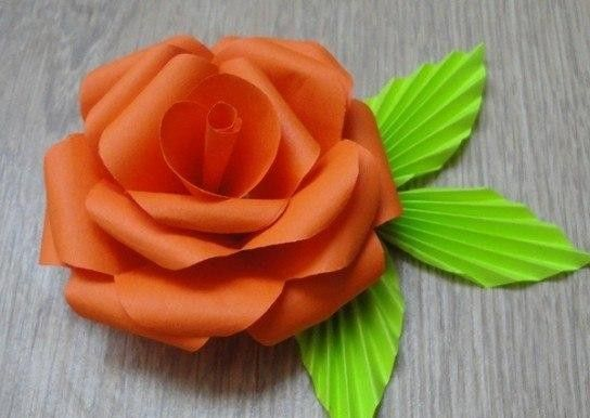 DIY Easy Paper Rose. If you go to the site listed at the end of the pictures, you can get the process and dimensions. It's not in English, but the numbers are good enough along with the picture tutorial. This method makes a gorgeous rose!