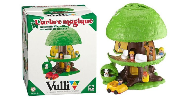 What's retro is new - the Klorofil Magic Tree is back #DollHouses, #Retro, #Toys, #Vintage, #Vulli