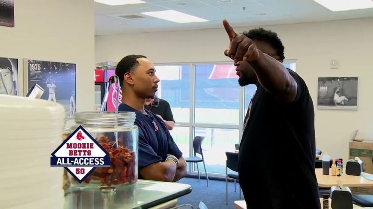 Mookie Betts Spring Training Behind The Scenes Boston Red Sox!