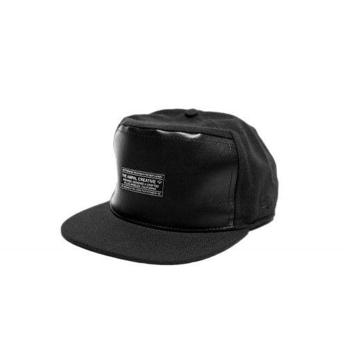 Black Standard Snapback Caps