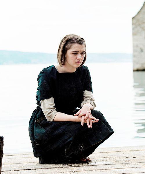 Maisie Williams   Arya Stark in Season 5, Episode 3 - High Sparrow