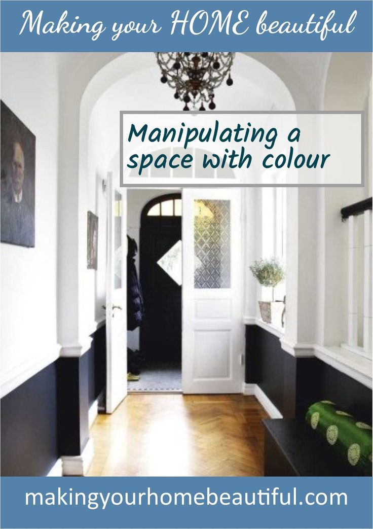 Manipulating a space with colour - colour lesson 5. This is a handy trick to know and understand - read my blog post to find out more