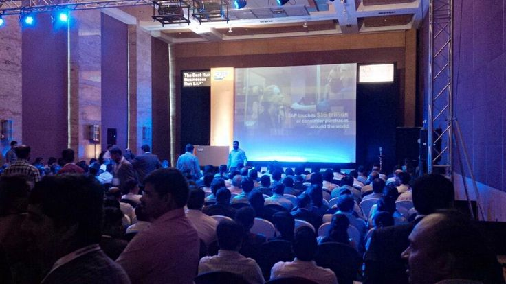 SAPB1 forum was choc-a-bloc early in the morning with delegates eager to absorb all the great learnings!