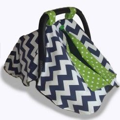 Navy chevron car seat canopy 1 #chevron #stone #carseatcanopy #moocachoo #babyproduct #handcrafted #onlineshopping #mommy #navy #green #polka #summermusthave