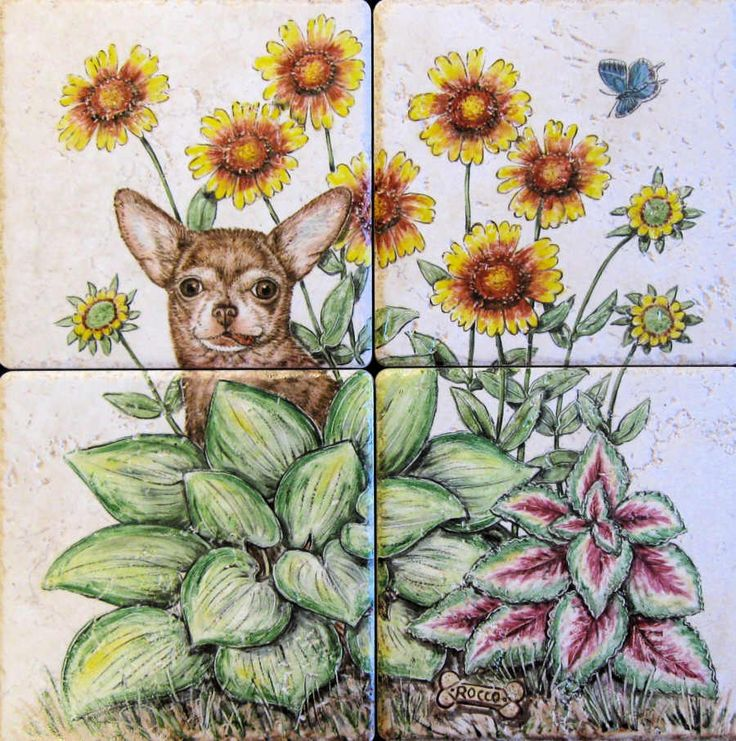 Find This Pin And More On Hand Painted Tiles Tile Murals Decorative Tiles By Julia