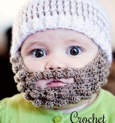 Crochet bobble beard // Horgolt  baba szakáll és sapka // Mindy - craft tutorial collection