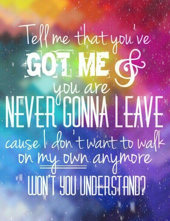 Jess Glynne. Hold my hand. Lyrics. Quote.