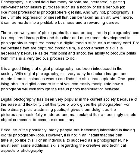 25 best ideas about Photography jobs – Job of a Photographer