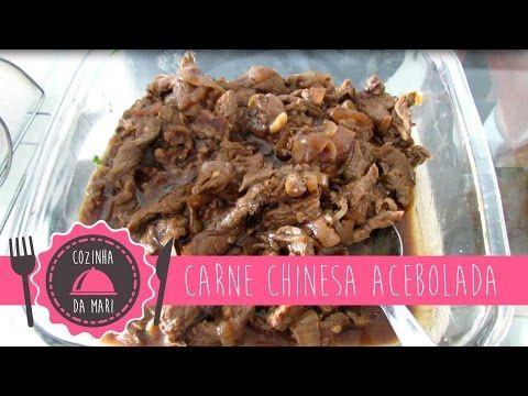 Cozinha da Mari: Carne Chinesa Acebolada - YouTube