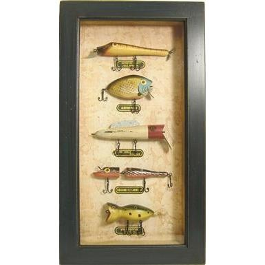 17 best images about fishing lure fun on pinterest for Fishing lure display