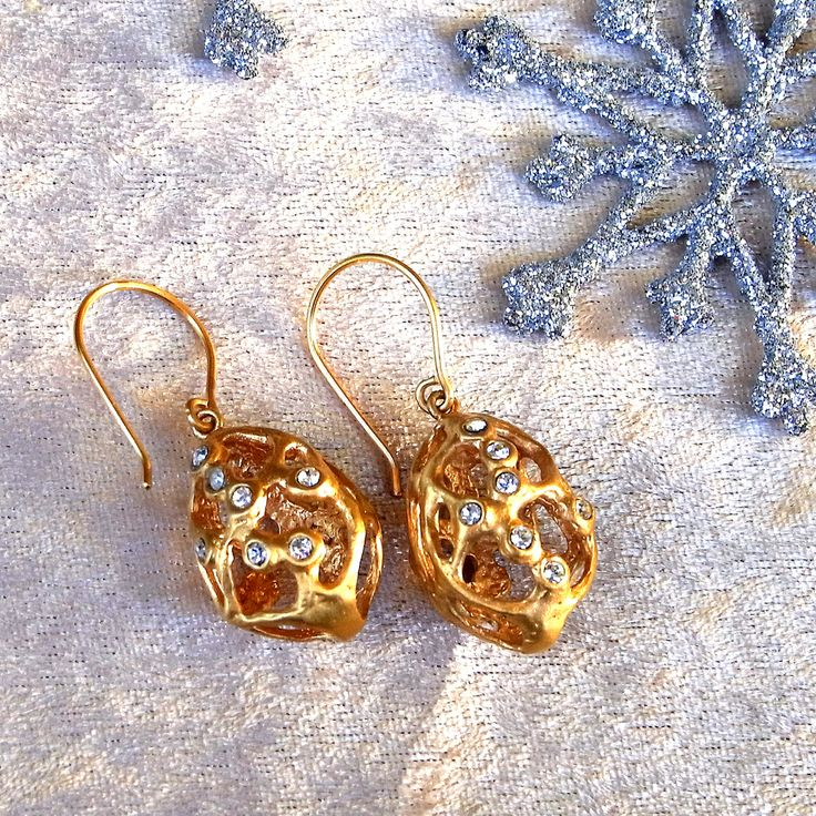 <2163:joid'art MATCA earrings CRYSTAL>