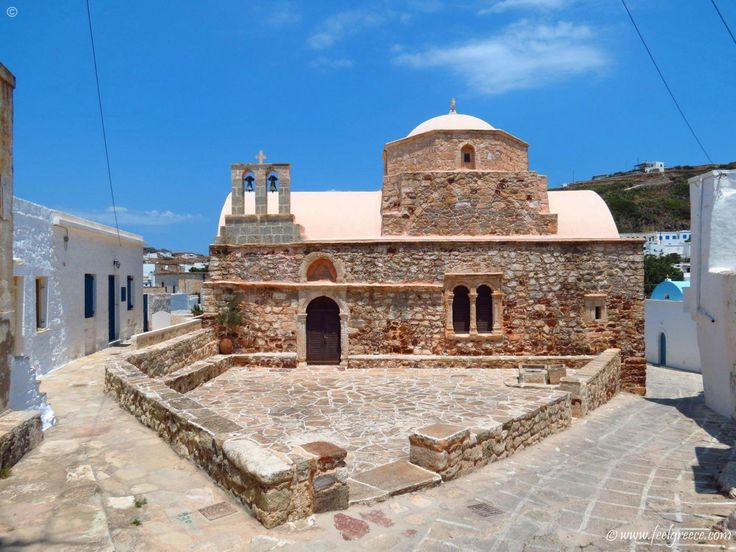 Old chirch in Kimolos, Cyclades Islands