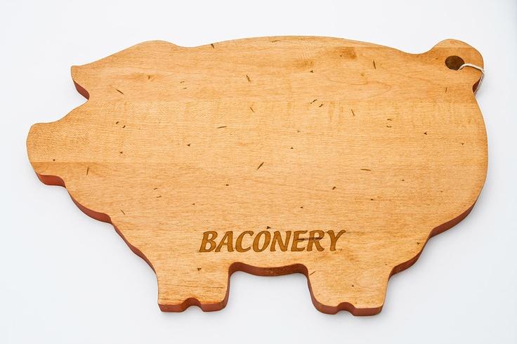 Pig Shaped Cutting Board