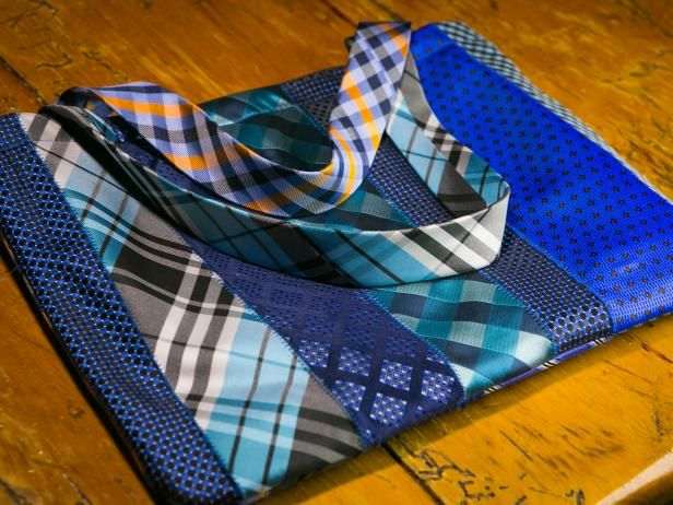 http://www.diynetwork.com/how-to/make-and-decorate/crafts/how-to-make-a-tote-bag-out-of-upcycled-neck-ties