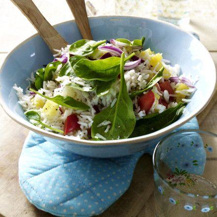 Exotischer Reissalat Rezept | LECKER