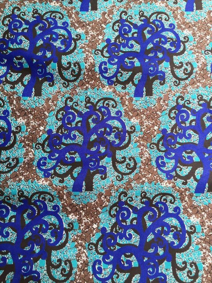 New African Cotton Print Cloth Ankara For Dresses & Craft Making Per 6 yards | eBay