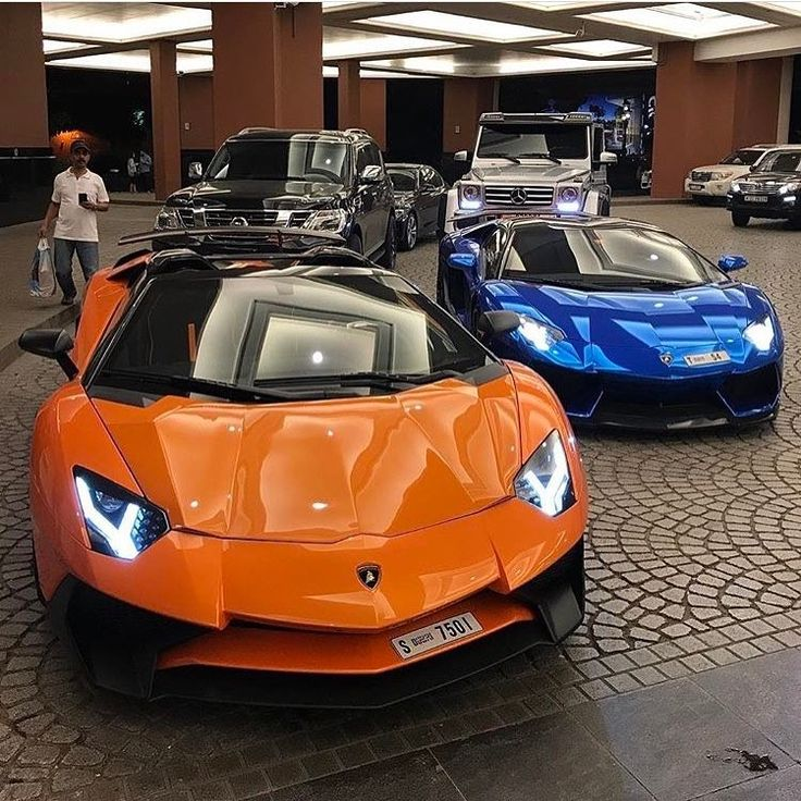 Orange Lamborghini Centenario Jerusalem House