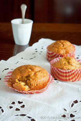 Muffins di carote e noci (senza latticini)