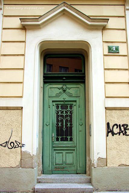door in Graz, Austria