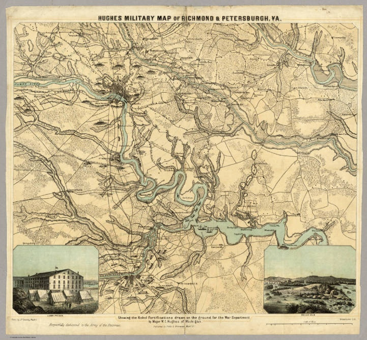 This is the military map of Richmond