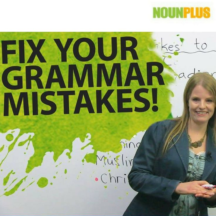 Hey, guys! English Grammar is not about feeling confident but keeps on knowing the correct form. Search for: https://www.nounplus.net/blog/english-grammar-and-spelling-5-tips-for-students/  #nounplus #grammarcheck #spelling #grammar