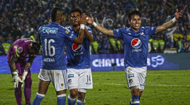 En fotos, la victoria de Millonarios frente a Nacional