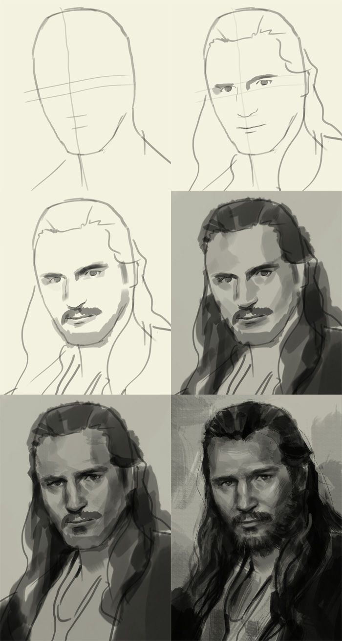 how to draw better portraits