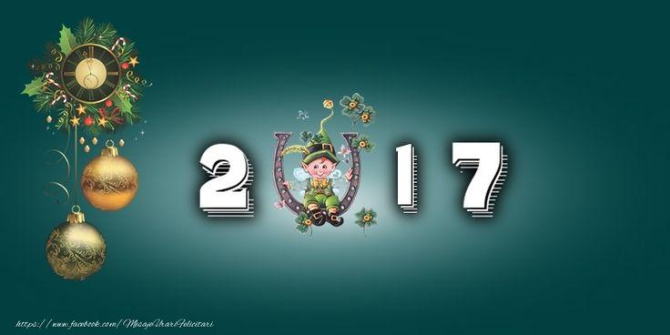 Felicitari de Anul Nou - 2017 Noroc si Sanatate - mesajeurarifelicitari.com
