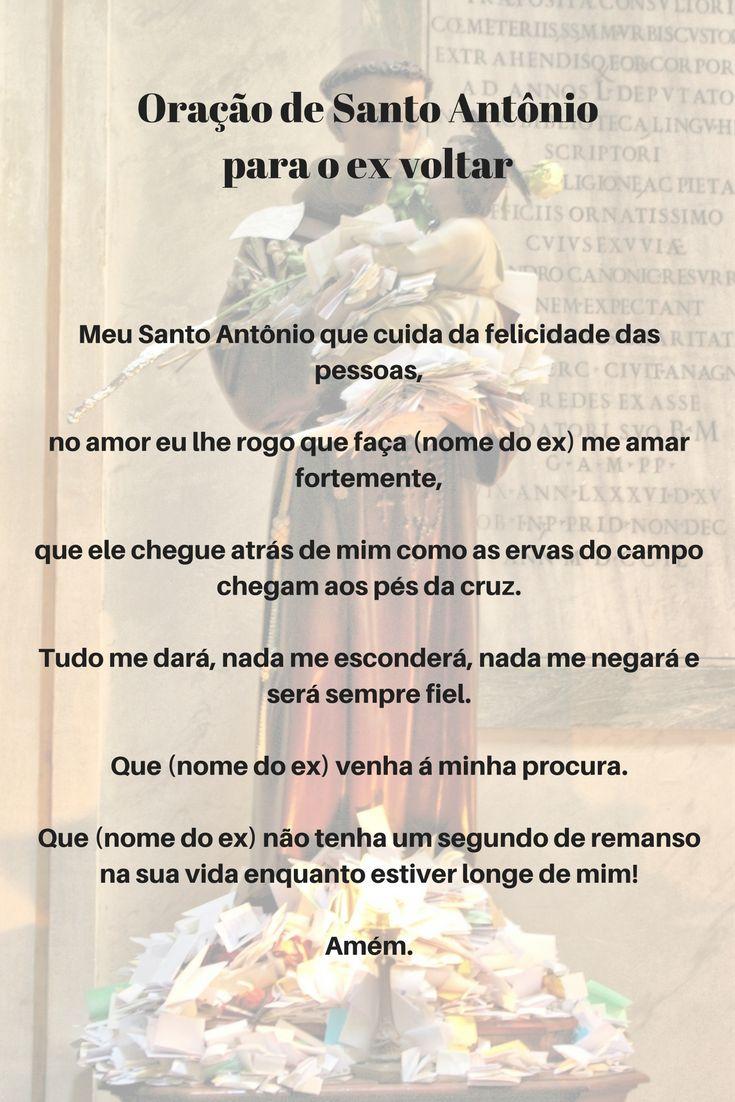 Oração de Santo Antônio para o ex voltar