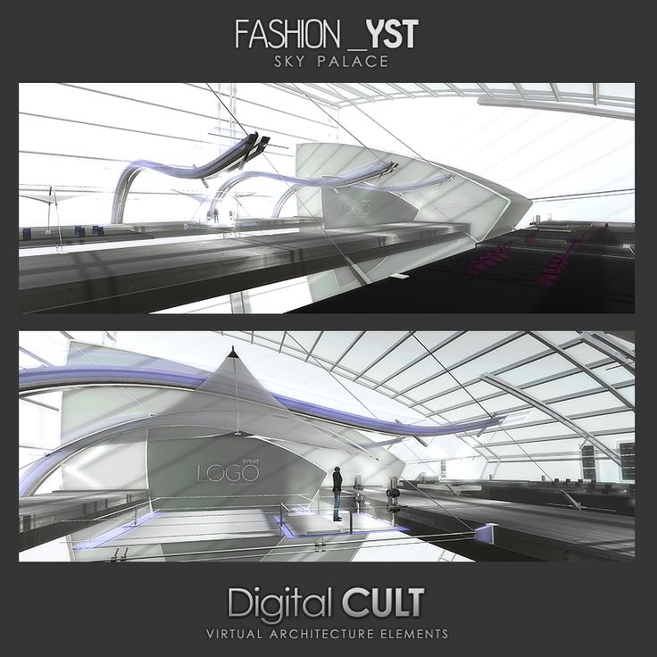 Fashion_YST Runway  SLURL: http://maps.secondlife.com/secondlife/New%20ITLAND/140/102/3304  MArketplace:https://marketplace.secondlife.com/p/DCL-FashionYST-Runway/7106605  Mesh Building  Sky Palace for fashion shows Ideal also for two adjacent regions