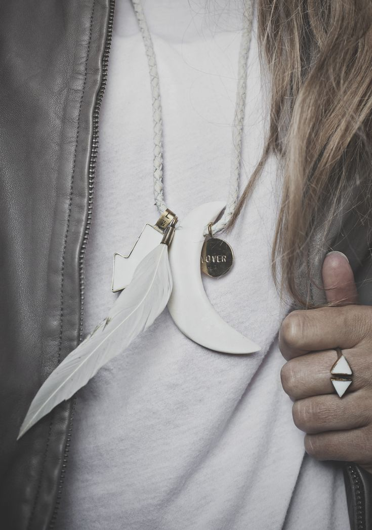 LW Lover Necklace | © Hannah Lemholt Photography for Love Warriors