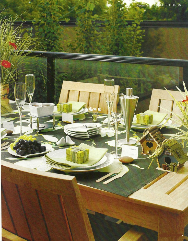 Eco Friendly Go Green Wedding Table Decorations And Setting
