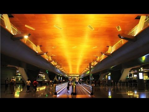 Hamad International Airport, Doha, Qatar - http://bookcheaptravels.com/hamad-international-airport-doha-qatar/ - A glimpse of the incredibly beautiful Hamad International Airport, Doha - the home of Qatar Airways. With a water theme for much of its architecture, Hamad I... - (city/town/village), (country), Airline, Airport, airways, Best, doha, hamad, hia, international, lounge, qatar, qr, review, servi, top