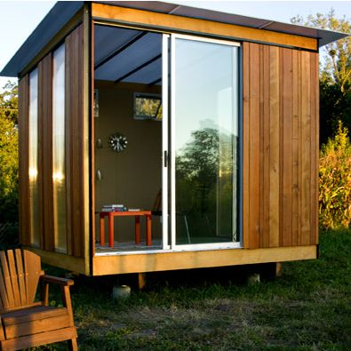 ...love the glass: Backyard Sheds, Tiny Houses Cabins, Outdoor Offices, Cabins Eye, Huts, Offices Spaces, Pools Houses, Backyard Studios, Guest Houses