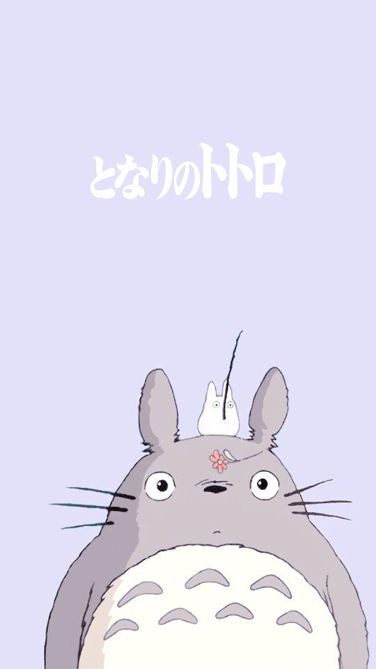Pin by stephanie on random fandom pinterest totoro - Totoro wallpaper iphone ...