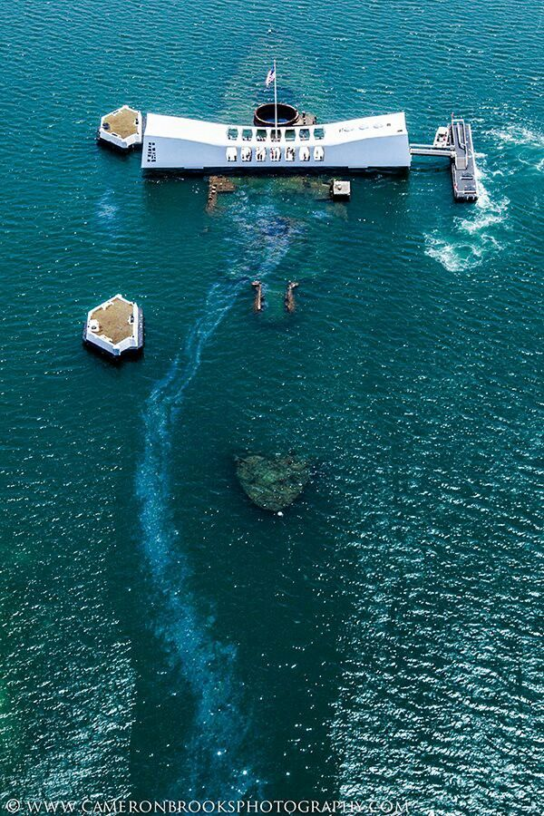 USS Arizona Memorial. I want to visit this place! Even looking at photo's breaks my heart.
