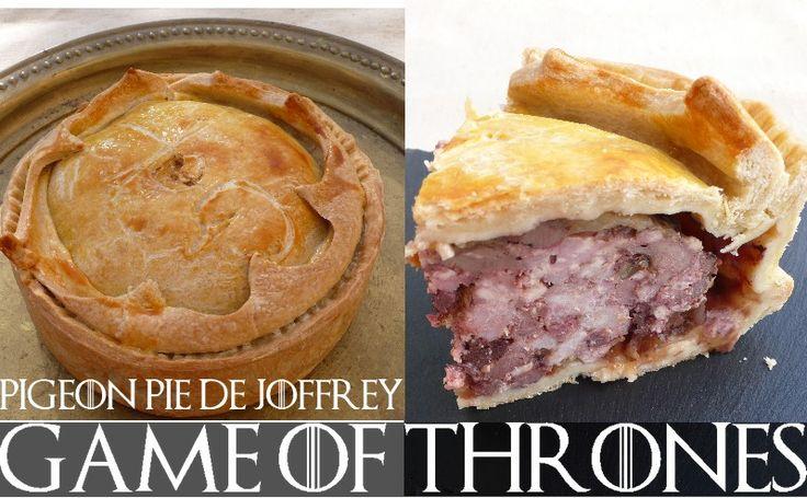 Pigeon pie pour le Roi Joffrey