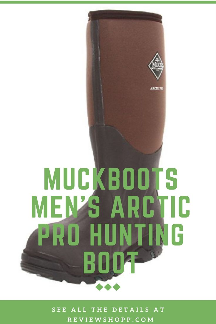 Best Upland Hunting Boots Reviews MuckBoots Men's Arctic Pro Hunting Boot #BestUplandHuntingBoots #Hunting #Boots