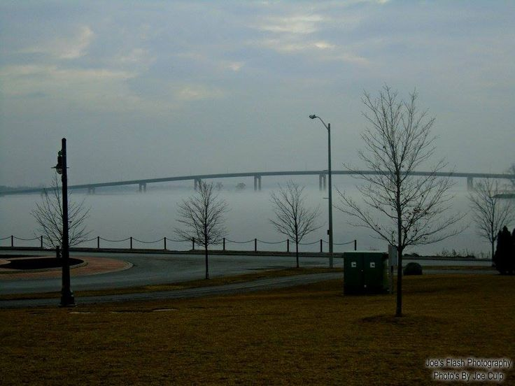 Fog on the Bay of Quinte at the Jane Forrester Park bellevile Ontario March 27, 2017