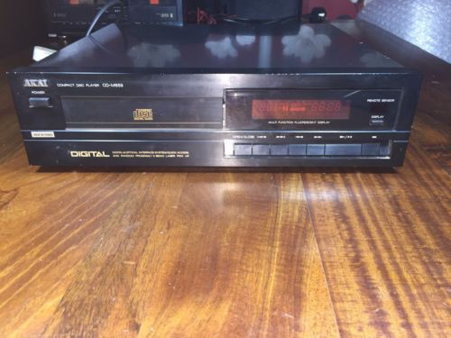 Akai-CD-M659-Compact-Disc-CD-Player-Separate-Black-OPTICAL-FULLY-WORKING