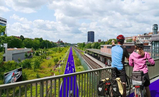Berlin Plans a New Network of Bike Superhighways:  Can Germany's capital become the next great bike-friendly city?