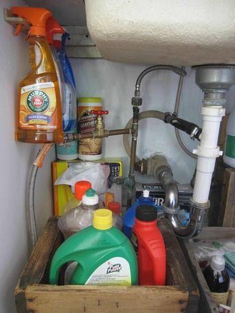 Awesome Websites Under Sink Storage Super Smart Ways to Organize the Space Under Sink